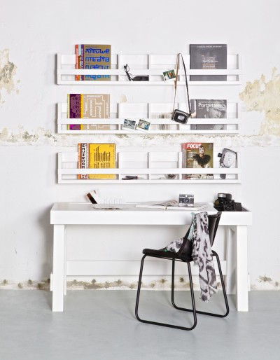 Shelving wandschap wit Be Pure Home
