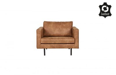 Be Pure Home rodeo love-seat cognac