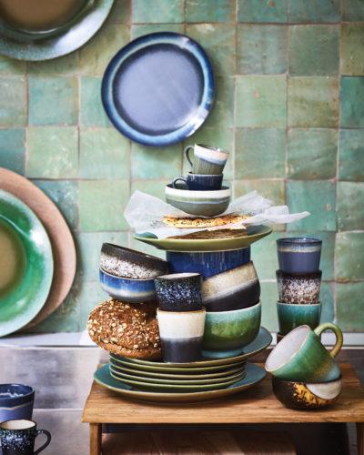 Mokken in seventies style keramiek HK Living