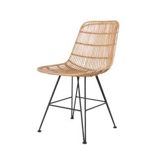 Rotan stoel naturel HK Living