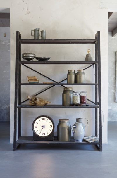 Be Pure Home Splurge metalen rek zwart