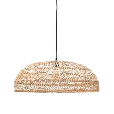 HK-living hanglamp riet handgevlochten naturel