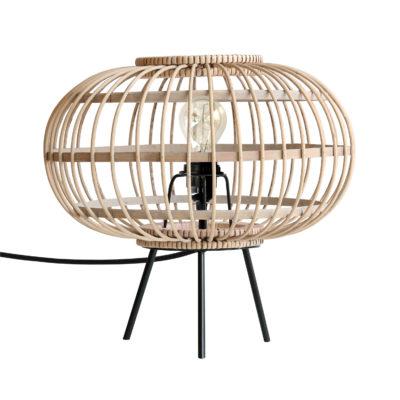 HK-living bamboo tafellamp