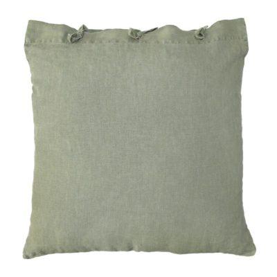 HK-living kussen linnen leger groen 50×50 cm