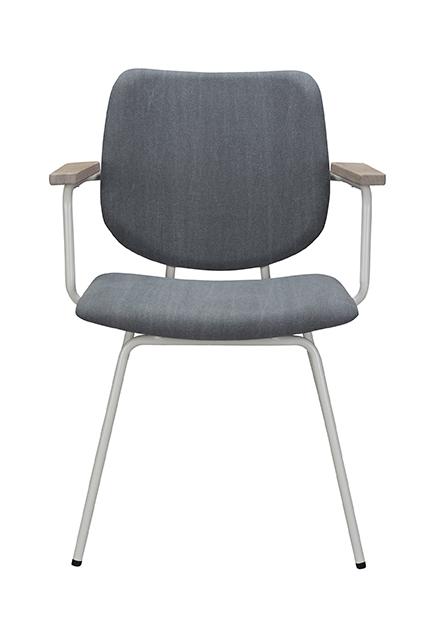 Bodilson Frame stoel met armleuning in Crunch 65