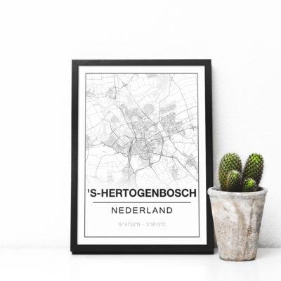 Studio 216 Poster met jou stad, plaats of land