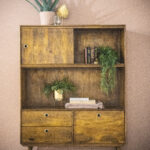 Een tikje retro in je huis met dit kabinet Wisconsin van Eleonora meubelen.