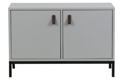 Vt lower case two doors betongrijs incl onderstel [fsc]