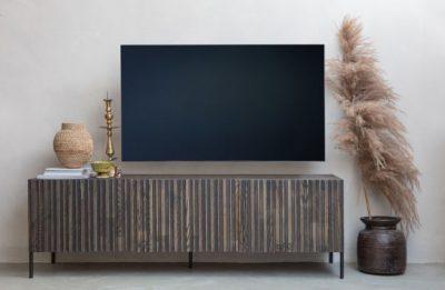 gravure tv meubele essen bruin